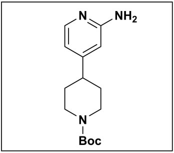 tert-butyl 4-(2-aminopyridin-4-yl)piperidine-1-carboxylate