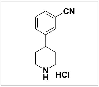 3-(piperidin-4-yl)benzonitrile hydrochloride