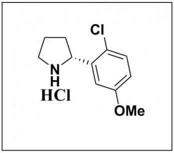 (R)-2-(2-chloro-5-methoxyphenyl)pyrrolidine hydrochloride