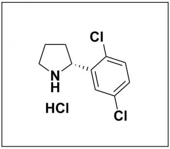 (R)-2-(2,5-dichlorophenyl)pyrrolidine hydrochloride