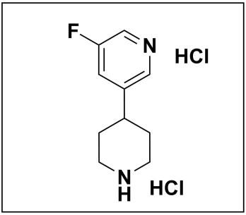 3-fluoro-5-(piperidin-4-yl)pyridine dihydrochloride