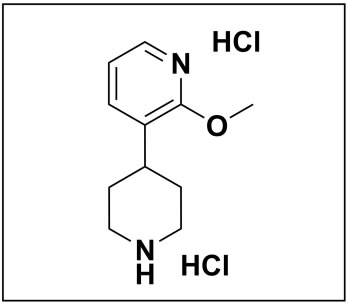 2-methoxy-3-(piperidin-4-yl)pyridine dihydrochloride