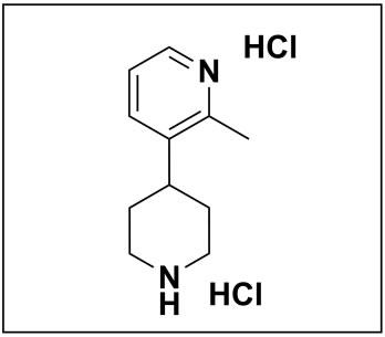 2-methyl-3-(piperidin-4-yl)pyridine dihydrochloride
