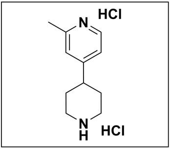 2-methyl-4-(piperidin-4-yl)pyridine dihydrochloride