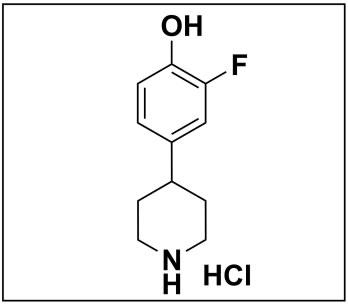 2-fluoro-4-(piperidin-4-yl)phenol hydrochloride