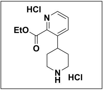 ethyl 3-(piperidin-4-yl)picolinate dihydrochloride