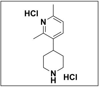 2,6-dimethyl-3-(piperidin-4-yl)pyridine dihydrochloride