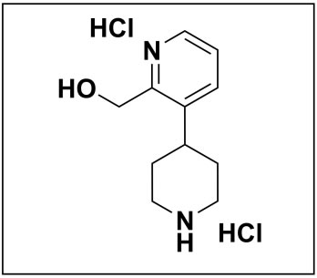 (3-(piperidin-4-yl)pyridin-2-yl)methanol dihydrochloride
