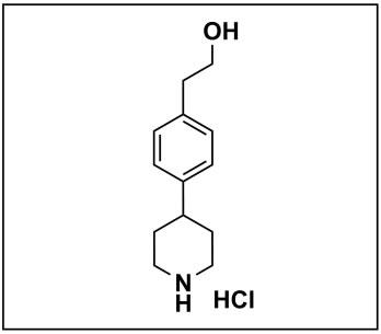 2-(4-(piperidin-4-yl)phenyl)ethan-1-ol hydrochloride