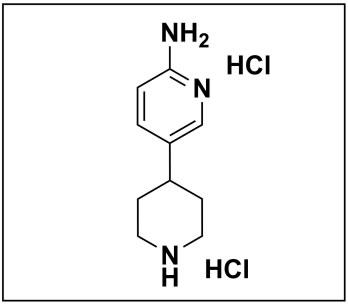 5-(piperidin-4-yl)pyridin-2-amine dihydrochloride
