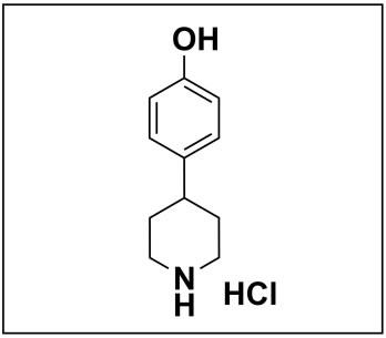 4-(piperidin-4-yl)phenol hydrochloride