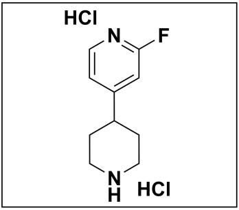 2-fluoro-4-(piperidin-4-yl)pyridine dihydrochloride
