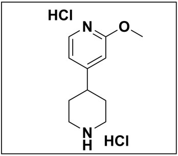 2-methoxy-4-(piperidin-4-yl)pyridine dihydrochloride