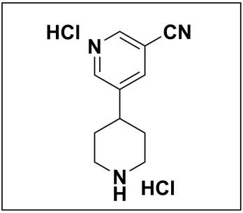 5-(piperidin-4-yl)nicotinonitrile dihydrochloride
