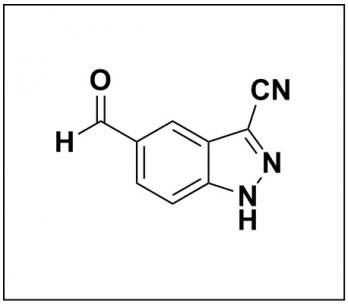 5-formyl-1H-indazole-3-carbonitrile