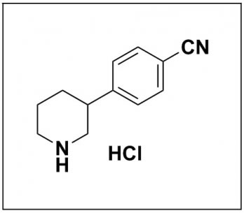 4-(piperidin-3-yl)benzonitrile hydrochloride