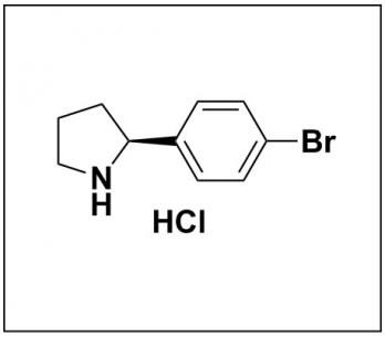 (S)-2-(4-bromophenyl)pyrrolidine hydrochloride