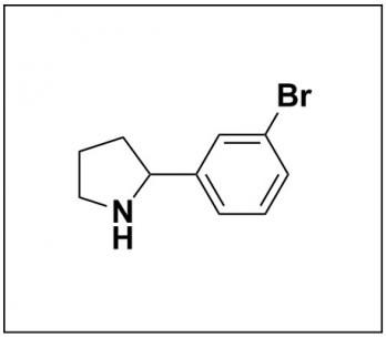 2-(3-bromophenyl)pyrrolidine