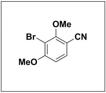 3-bromo-2,4-dimethoxybenzonitrile
