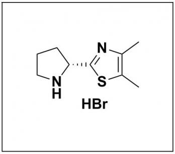 (R)-4,5-dimethyl-2-(pyrrolidin-2-yl)thiazole hydrobromide