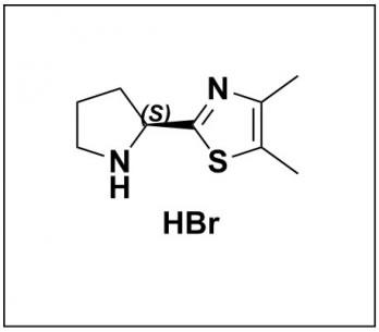 (S)-4,5-dimethyl-2-(pyrrolidin-2-yl)thiazole hydrobromide