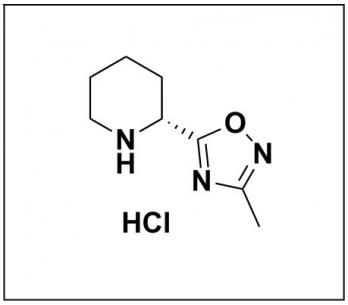 (R)-3-methyl-5-(piperidin-2-yl)-1,2,4-oxadiazole hydrochloride
