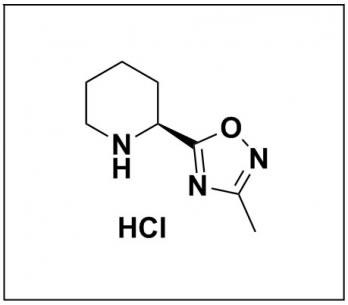 (S)-3-methyl-5-(piperidin-2-yl)-1,2,4-oxadiazole hydrochloride