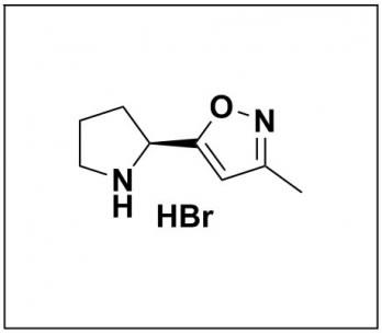 (S)-3-methyl-5-(pyrrolidin-2-yl)isoxazole hydrobromide
