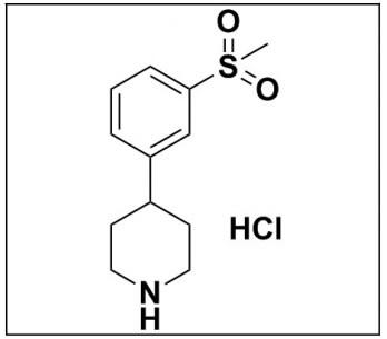 4-(3-(Methylsulfonyl)phenyl)piperidine hydrochloride