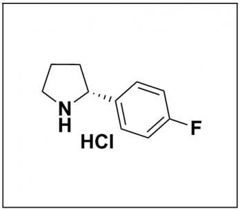 (R)-2-(4-fluorophenyl)pyrrolidine hydrochloride