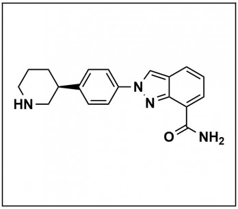 (S)-2-(4-(piperidin-3-yl)phenyl)-2H-indazole-7-carboxamide
