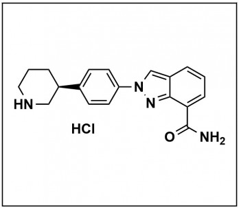 (S)-2-(4-(piperidin-3-yl)phenyl)-2H-indazole-7-carboxamide dihydrochloride