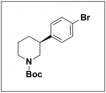 tert-butyl (S)-3-(4-bromophenyl)piperidine-1-carboxylate