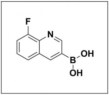 (8-Fluoroquinolin-3-yl)boronic acid