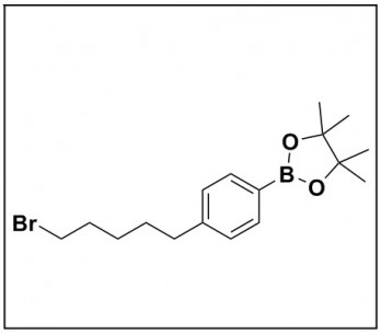 2-(4-(5-bromopentyl)phenyl)-4,4,5,5-tetramethyl-1,3,2-dioxaborolane