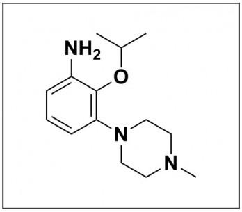 2-isopropoxy-3-(4-methylpiperazin-1-yl)aniline