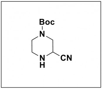 tert-butyl 3-cyanopiperazine-1-carboxylate