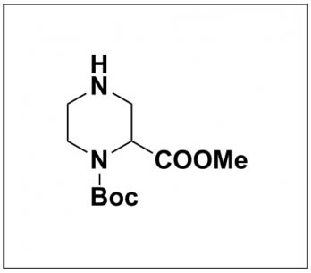 1-(tert-butyl) 2-methyl piperazine-1,2-dicarboxylate