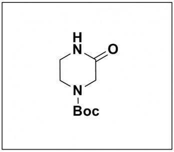 tert-butyl 3-oxopiperazine-1-carboxylate