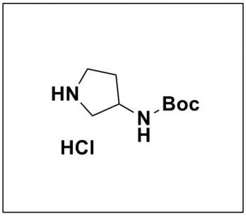 tert-butyl pyrrolidin-3-ylcarbamate hydrochloride