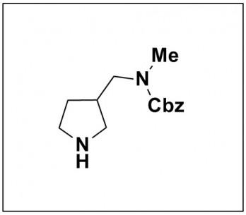 benzyl methyl(pyrrolidin-3-ylmethyl)carbamate