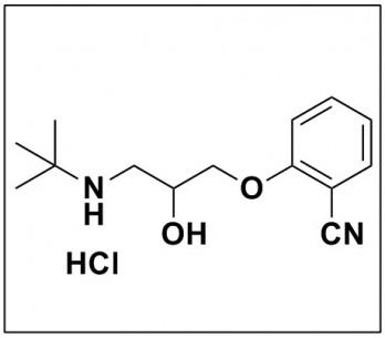 2-(3-(tert-butylamino)-2-hydroxypropoxy)benzonitrile hydrochloride