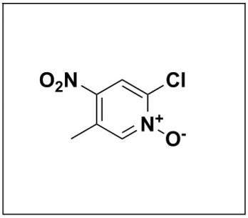 2-chloro-5-methyl-4-nitropyridine 1-oxide
