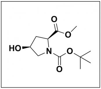 1-(tert-butyl) 2-methyl (2S,4S)-4-hydroxypyrrolidine-1,2-dicarboxylate