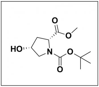 1-(tert-butyl) 2-methyl (2R,4R)-4-hydroxypyrrolidine-1,2-dicarboxylate