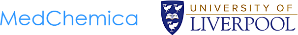 MedChemica and University of Liverpool logos